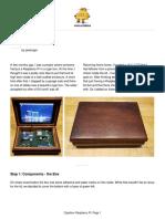 Cigarbox Raspberry Pi