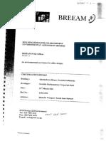 BREEAMReport QH Sample