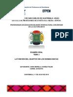 La Función Del Adjetivo en Los Idiomas Mayas (2)