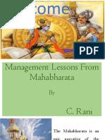 Presentation on mahabharat