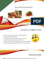 Metode de Obtinere a Produselor Dietetice