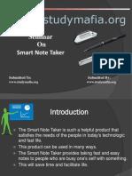 Smart Note Taker PPT.pptx