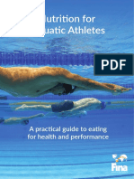 Nutrition for Aquatic Athletes Booklet v5 Final