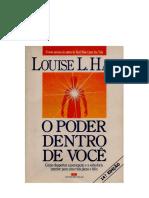 O Poder Dentro de Você - Louise L. Hay.docx