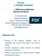Difference between ground and neutral