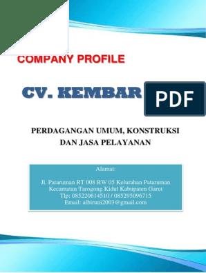Cv Kembar Jaya Company Profile