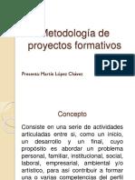 Metodología de Proyectos Formativos - Copia