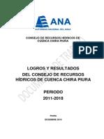 Logros Crhc Chira Piura 2011-2018