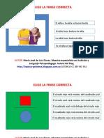 eligelafrasecorrecta-140612171844-phpapp02