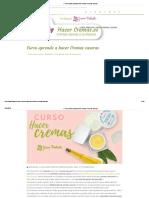 ✅ Curso gratis para aprender a hacer Cremas caseras.pdf