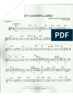 What Wonderful Word - partitura