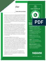2019 01 24 Nginx Controller Load Balancer Application Delivery Datasheet