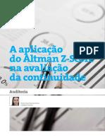 A Aplicação do Altman Z-Score na avaliação da continuidade