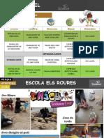 Abril - Recull Fotos Activitats Els Roures