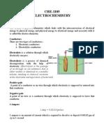 Chemistry 1105 Final 3