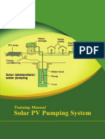 Solar PV Pumping System  (Training Manual).pdf