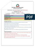 observation feedback-khalood ali-1st-20-3-3-2019