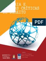 Historia e Teorias Criticas Do Direito
