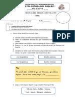 Examen Lenguaje
