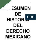 RESUMEN DE HISTORIA DEL DERECHO MEXICANO.pdf