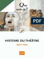 Histoire du theatre - Alain Viala.epub