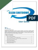 Clean Shutdown User Manual