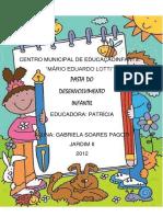 Centro Municipal de Educaçãoinfantil Capa Da Pasta 2012