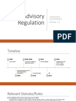 Proxy Advisory Regulation