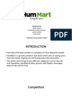 Direct and Digital Marketing Campaign of Hum Mart