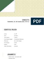 CSR Sinusitis - Dr. Fari Ananda Daud, Sp.tht-KL
