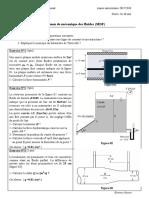Examen Corrigé Mécanique Des Fluides (MDF), Univ Laghouat 2018