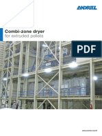 Andritz Combi-zone Dryer for Extruded Pellets