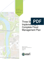 Three Steps Flood Management