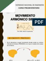 Movimiento Armónico Simple - PRE