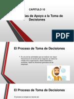 CAPITULO 10 - Tecnologías de Apoyo a La Toma de Decisiones