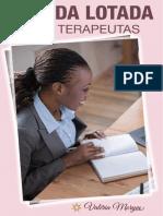 Livro Digital Agenda Lotada Para Terapeutas Valeria Morym