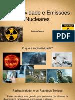 Radioatividade e Emissões Nucleares - Apresentação