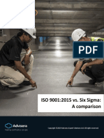 ISO 90012015 vs Six Sigma a Comparison En