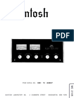 Adi Amplificator Mcintosh 2105 Service Manual Sandra
