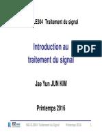Traitement du signal Introduction