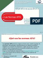 1 Presentación Las Normas APA