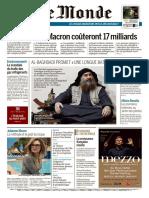 Journal LE MONDE et Suppl du Jeudi 2 Mai 2019.pdf