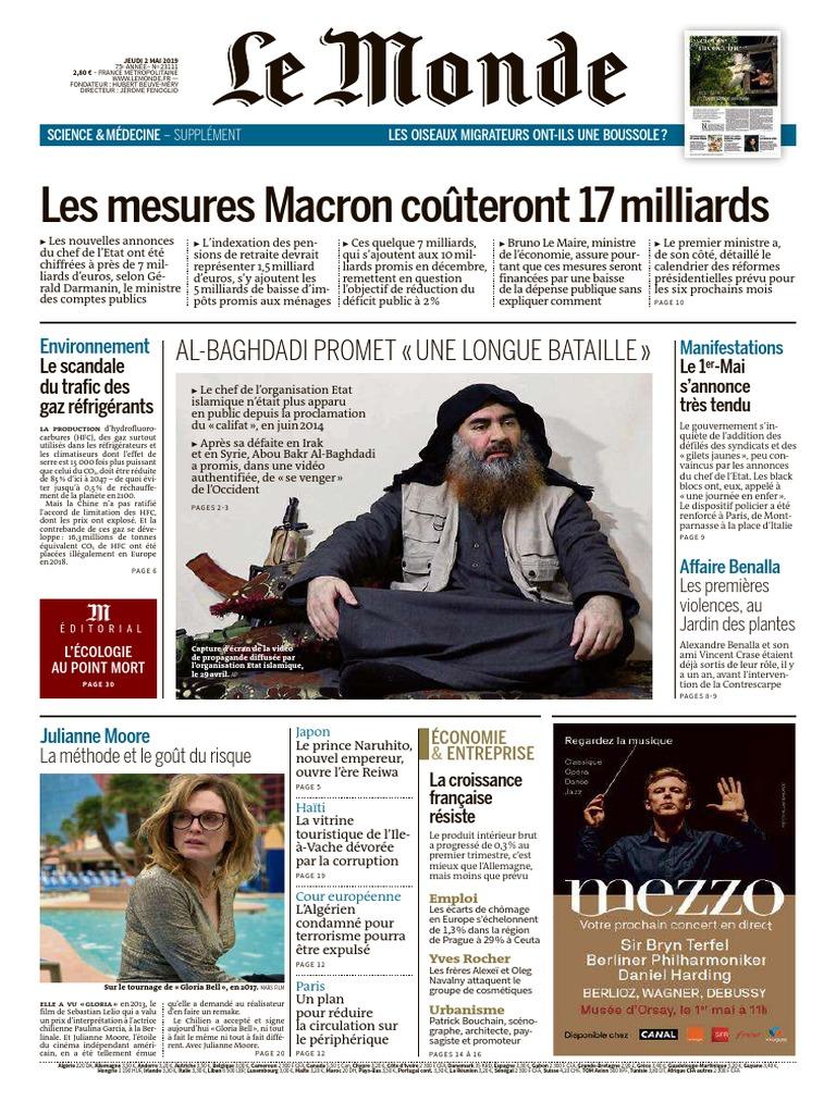 Sophie Pinard La Gacilly journal le monde et suppl du jeudi 2 mai 2019.pdf | État