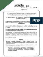 Resolución 0401_2015