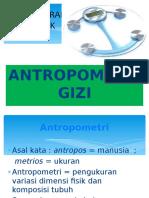 Materi Antropometri Gizi