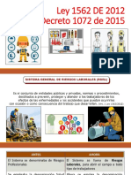 Ley 1562 DE 2012, Decreto 1072 de 2015