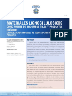 Materiales Lignocelulosicos