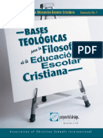 Bases Teologicas
