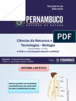 A Linfa e a Imunização Natural e Artificial