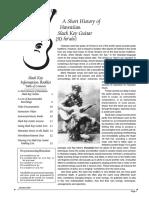 [E-book] [Guitar] a Short Hystory of Hawaian Slack Key Guitar